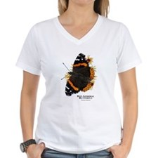Red Admiral Butterfly Shirt