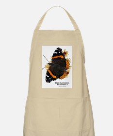Red Admiral Butterfly Apron