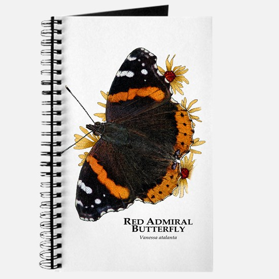 Red Admiral Butterfly Journal
