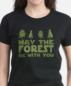 may the forest be with you light green.PNG T-Shirt