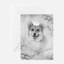 Be my Valentine Corgi Greeting Cards