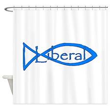 Liberal Christian Shower Curtain