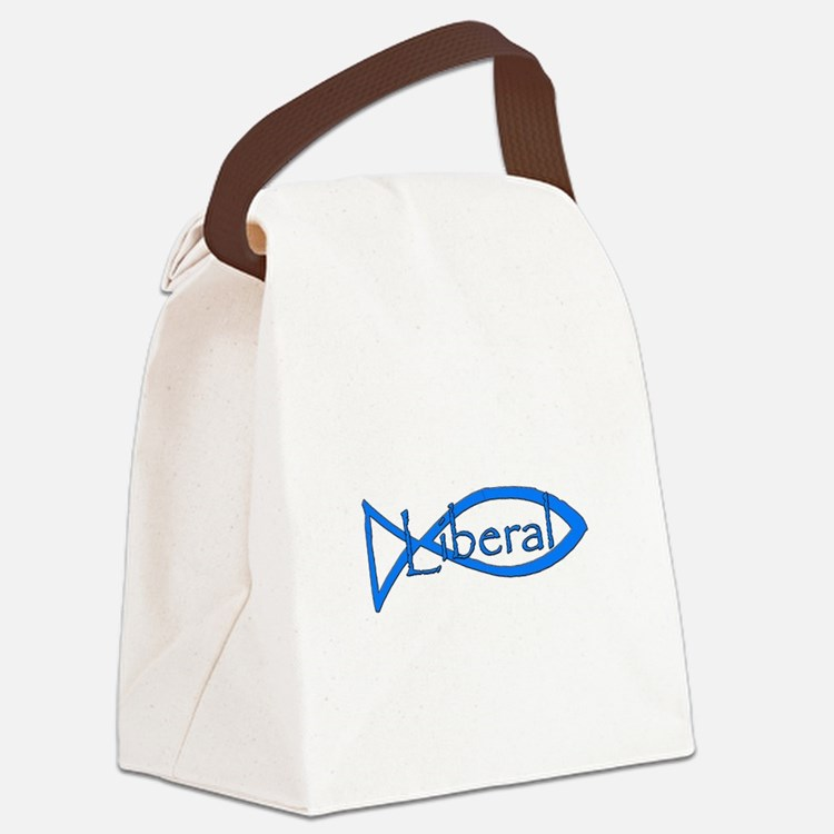 Liberal Christian Canvas Lunch Bag