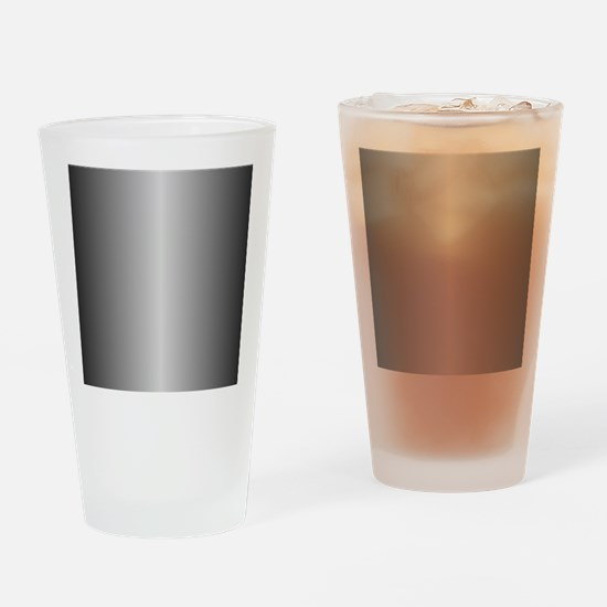 Grey Metallic Shiny Drinking Glass