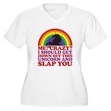 Me? Crazy? Plus Size T-Shirt