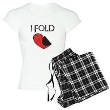 I Fold Funny Anti-Valentine Pajamas