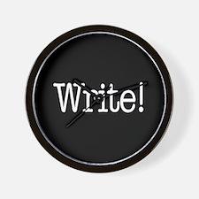 Write! Wall Clock