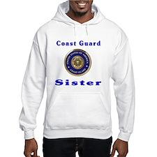 coast guard sister Hoodie