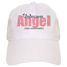 Undercover Angel (Halo Underneath) Baseball Cap