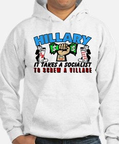 To Screw A Village! Hoodie
