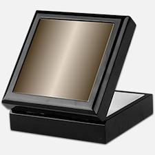 Bronze Metallic Shiny Keepsake Box