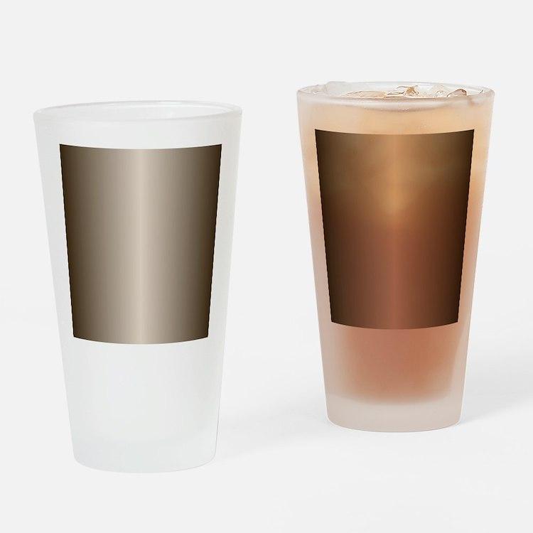 Bronze Metallic Shiny Drinking Glass