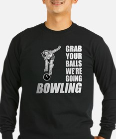 Grab Your Balls Bowling T