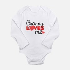 Granny Love Me (red) Body Suit