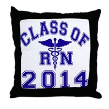 Class Of 2014 RN Throw Pillow