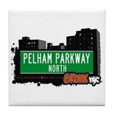 Pelham Parkway North, Bronx, NYC  Tile Coaster