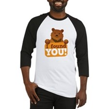 I FOUND YOU love cute grizzly brow Baseball Jersey