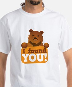 I FOUND YOU love cute grizzly brown  Shirt