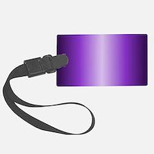 Purple Metallic Shiny Luggage Tag