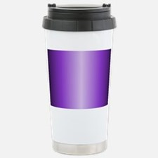Purple Metallic Shiny Travel Mug