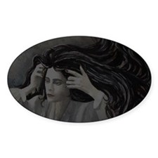 Woman: Light and Dark Reverse Decal