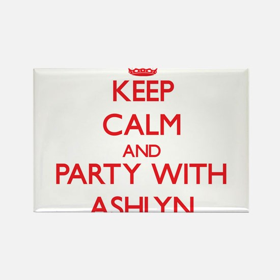 Keep Calm and Party with Ashlyn Magnets