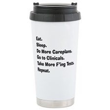 Cute Nursing Stainless Steel Travel Mug