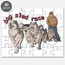 Dog sled race Puzzle