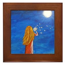Jasmine Dreams Framed Tile