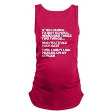 Dropout Maternity Tank Top