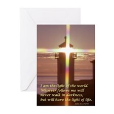 Lighthouse w/ John 8:12 Cards (Pk of 10)
