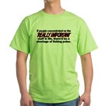Important Things in Life Green T-Shirt