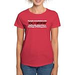 Important Things in Life Women's Dark T-Shirt