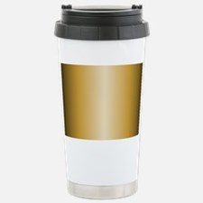 Gold Metallic Shiny Travel Mug