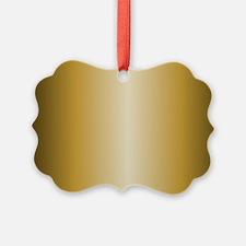 Gold Metallic Shiny Ornament