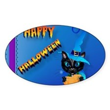 placemat-Happy Halloween-Witch Kitt Decal