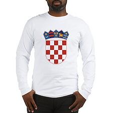 Croatia Coat of Arms Long Sleeve T-Shirt