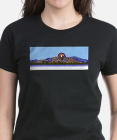 Mission Peak mountains logo T-Shirt
