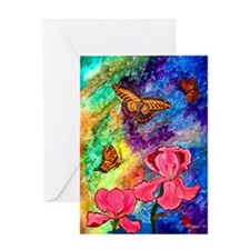 Swallowtail Attraction ONE Greeting Card (3 Sizes)
