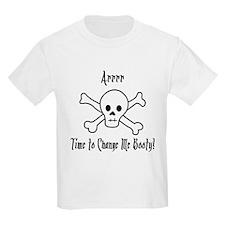 Pirate Diaper Booty T-Shirt