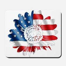 Patriotic Sunflower Mousepad