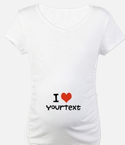 CUSTOMIZE I heart Shirt