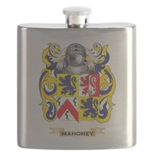 Mahoney Coat of Arms - Family Crest Flask