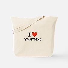 CUSTOMIZE I heart Tote Bag
