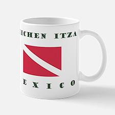 Chichen Itza Mexico Scuba Mugs