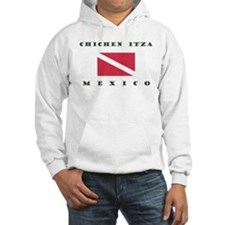 Chichen Itza Mexico Scuba Hoodie