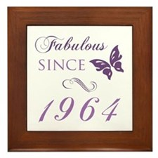 Fabulous Since 1964 Framed Tile