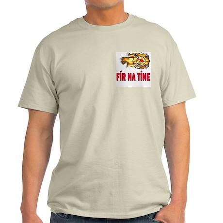 Fír Na Tíne Men of Fire Light T-Shirt
