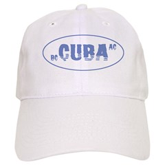 Cuba BC AC Water Baseball Cap