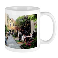 Conversations By The Garden Mugs